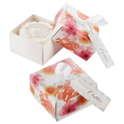 Kate Aspen® Blossom and Bubbles Flower Soap