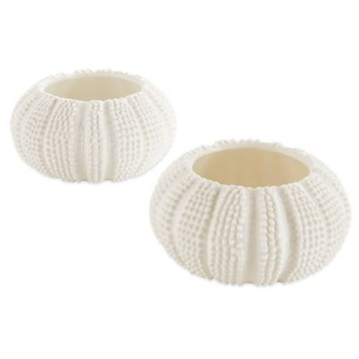 Kate Aspen® Sea Tidings Sea Urchin Tealight Holders (Set of 2)