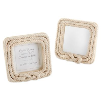 White Rope Frame