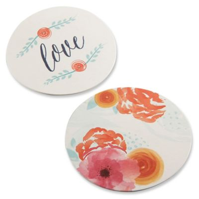 Kate Aspen® In Bloom Floral Paper Coasters (Set of 20)