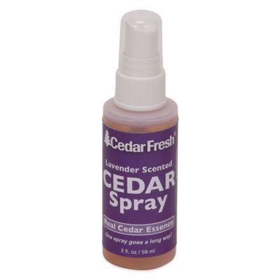 Household Essentials® 2-Pack 2 oz. Cedar Power Spray with Lavender