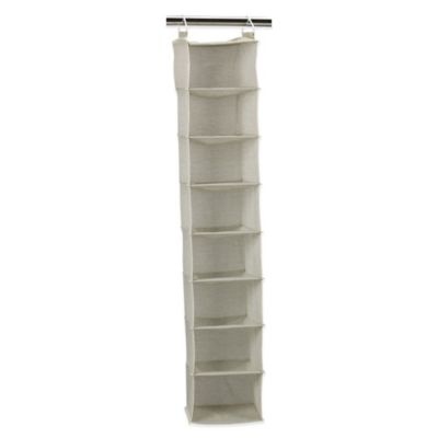 Household Essentials® 8-Shelf Hanging Organizer in Tea Fog