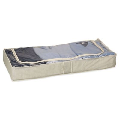 Household Essentials® Under Bed Storage Bag in Tea Fog
