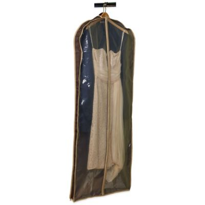 Household Essentials® Dress/Suit Garment Bag in Coffee