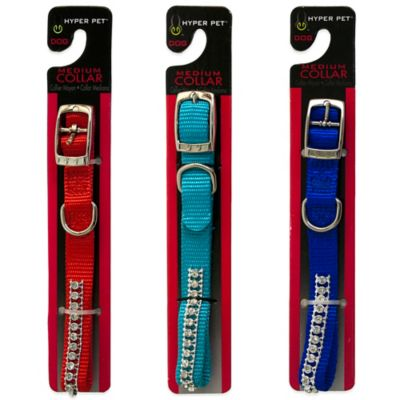 Hyper Pet™ Medium Rhinestone Collar in Ocean Blue
