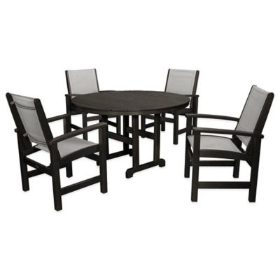 Black Outdoor Dining