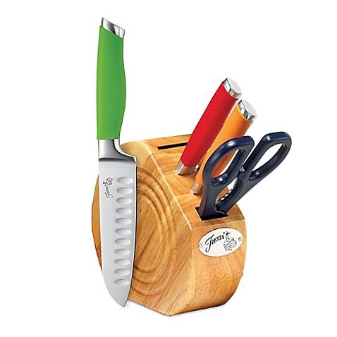 Buy Fiesta 174 5 Piece Multicolored Cutlery Block Set From