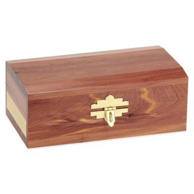 Household Essentials® Small Cedar Keepsake Box