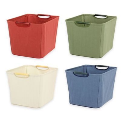 Organic Storage With Bins