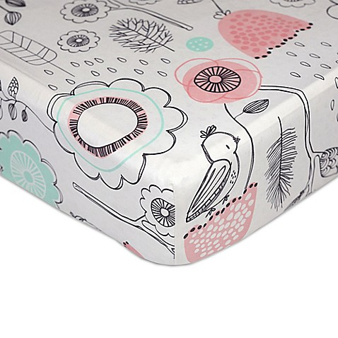 Crib Sheets > Lolli Living™ by Living Textiles Mix & Match Sparrow Fitted Crib Sheet