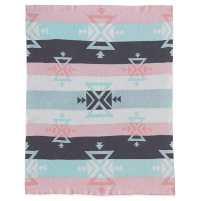Lolli Living™ by Living Textiles Reversible Aztec Knitted Cotton Blanket