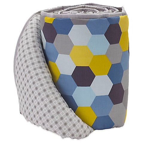 Bumpers > Lolli Living™ by Living Textiles Mix & Match Woods Hexagon Crib Bumper