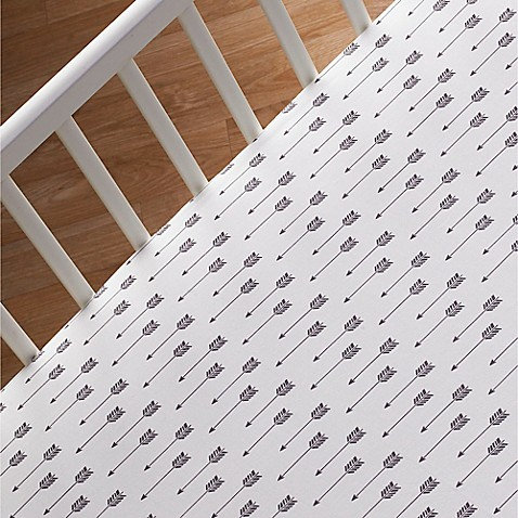 Crib Sheets > Lolli Living™ by Living Textiles Mix & Match Woods Arrow Print Fitted Crib Sheet