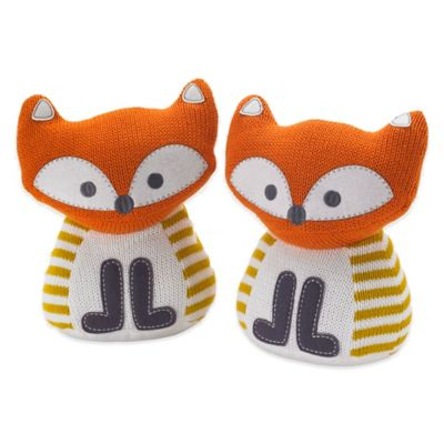 Lolli Living™ by Living Textiles Mix & Match Woods Fox Bookends (Set of 2)