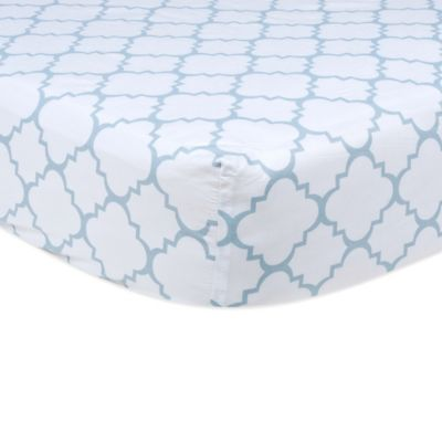 Blue Baby Fitted Sheets