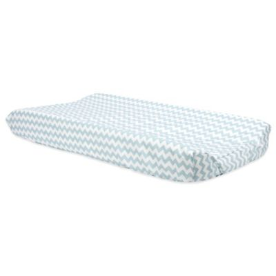 Trend Lab® Blue Sky Changing Pad Cover in Chevron