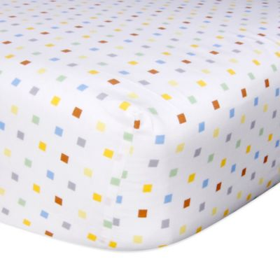 Trend Lab® Chibi Zoo Crib Fitted Crib Sheet