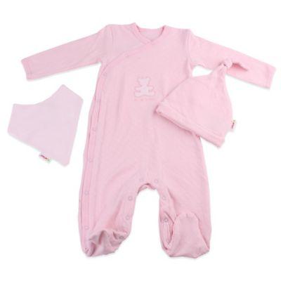 Ice cream Tub Newborn 4-Piece Gift Box in Pink
