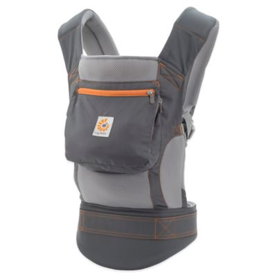 Ergobaby™ Performance Collection Baby Carrier in Grey/Orange