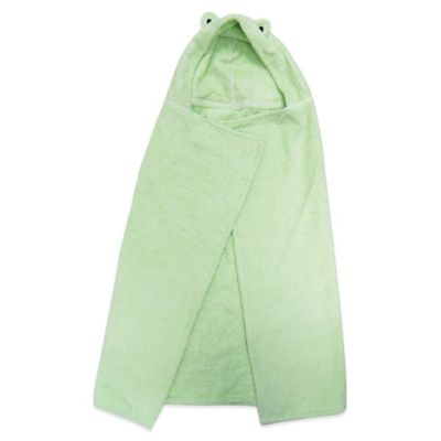 Frog Hooded Towels