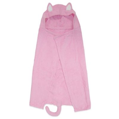 Trend Lab® Size 0-3T Kitty Hooded Towel
