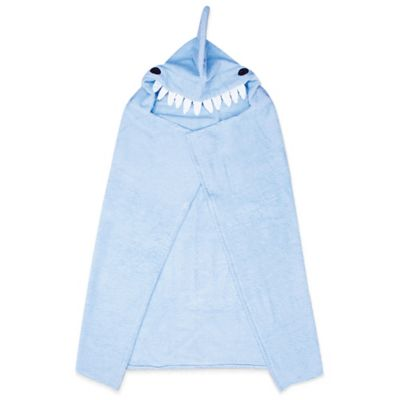 Trend Lab® Size 0-3T Shark Hooded Towel