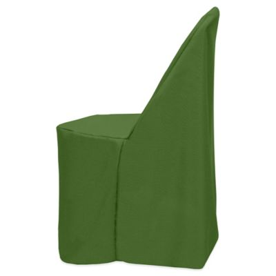 Basic Polyester Cover for Plastic Folding Chair in Moss