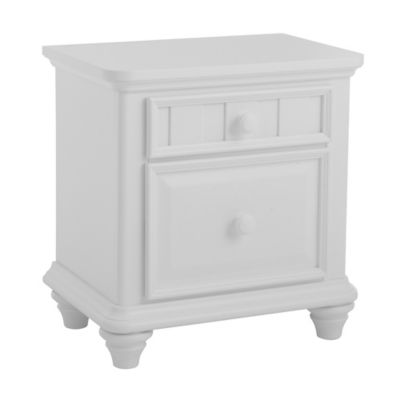 Pulaski Summertime Nightstand in White