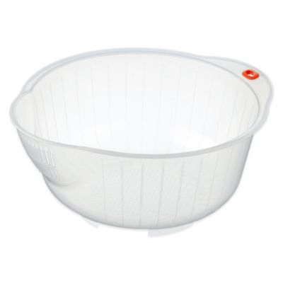 Inomata Japanese Rice Washing Bowl with Strainer