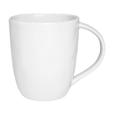 Everyday White® Organic-Shaped Mug