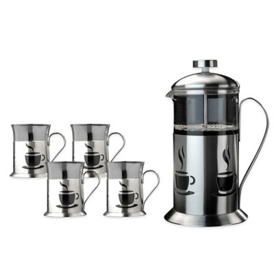 BergHOFF® French Press 5-Piece Coffee Set