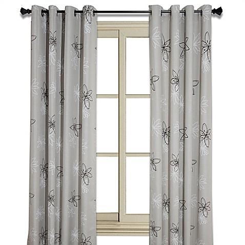 ... Buy Crawford 102 Inch Floral Print Room Darkening Window ...