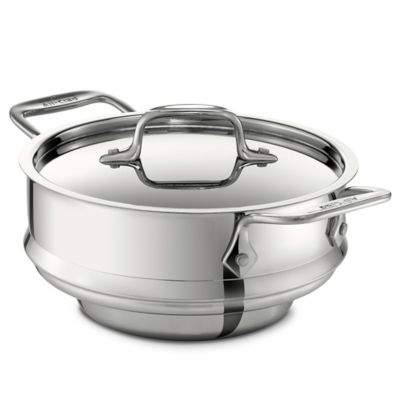 All-Clad 3 qt. Stainless Steel Steamer with Lid