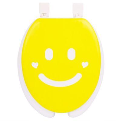 Yellow/White Toilet Seats & Accessories