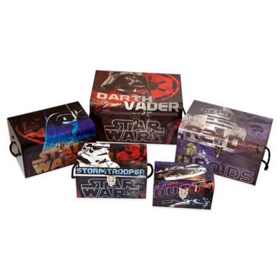 Star Wars® 5-Piece Flat Top Trunk Set