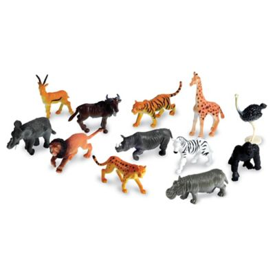 Learning Resources 60-Piece Jungle Animal Counters