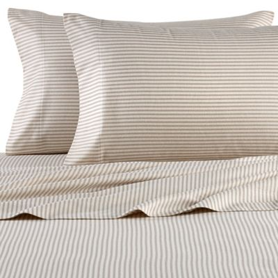 Taupe Flannel Pillowcases