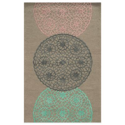 Rizzy Home Eden Harbor Dreamcatcher 8-Foot x 10-Foot Area Rug in Rust