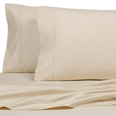 All Natural Cotton 600-Thread-Count King Pillowcases (Set of 2)