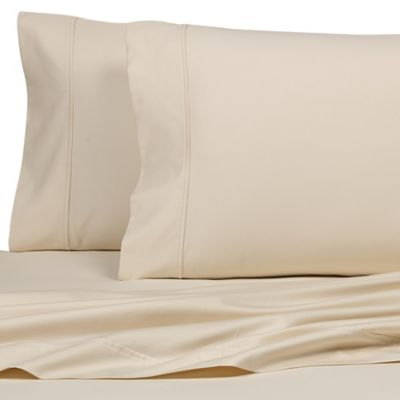 All Natural Cotton 500-Thread-Count Standard Pillowcases (Set of 2)