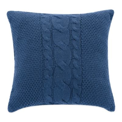 Williamsburg Randolph 18-Inch Square Throw Pillow in Blue