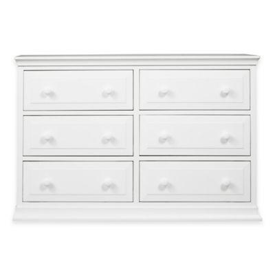 DaVinci Signature 6-Drawer Double Dresser in White
