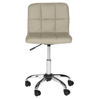 Safavieh Brunner Desk Chair in Grey