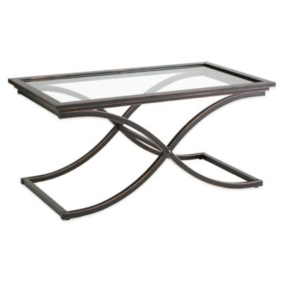 Southern Enterprises Vogue Cocktail Table in Black