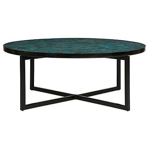 Buy Safavieh Cheyenne Coffee Table In Turquoise From Bed Bath Beyond