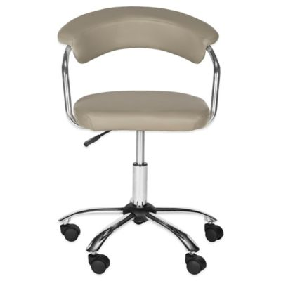 Pier Desk Chair in Grey