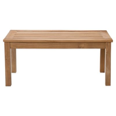 Southern Enterprises Coffee Table in Light Brown