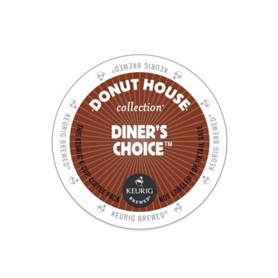 Keurig® K-Cup® Pack 18-Count Donut House Collection® Diner's Choice™ Coffee