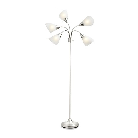 Studio 3B™ 5-Light Floor Lamp with CFL Bulbs