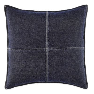 Nautica® Seaward Square Throw Pillow in Denim Blue